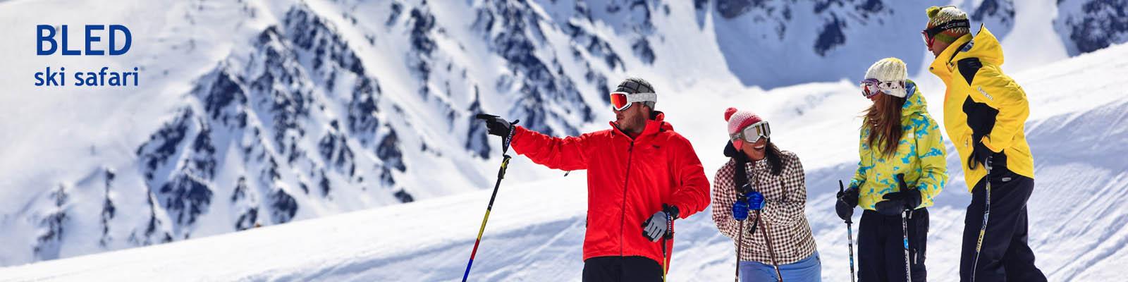 BLED ski safari baner
