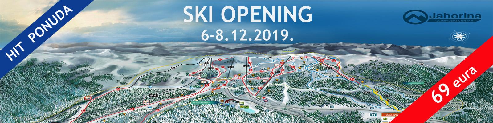 Jahorina ski opening baner